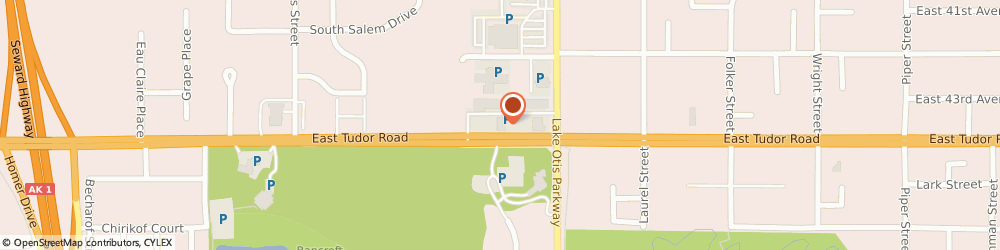 Route/map/directions to STATE FARM Dave Strike, 99507 Anchorage, 2213 E Tudor Road, Suite 54