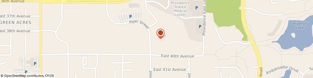 Route/map/directions to American Cancer Society, 99508 Anchorage, 3851 Piper St Ste U240