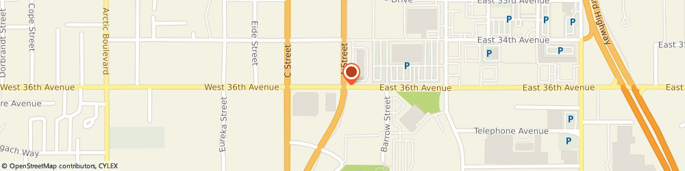 Route/map/directions to First National Bank Alaska - Home Loan Center, 99503 Anchorage, 101 West 36Th Avenue