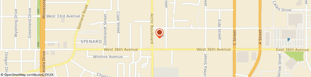 Route/map/directions to H&R Block, 99503 Anchorage, 3555 Arctic Blvd
