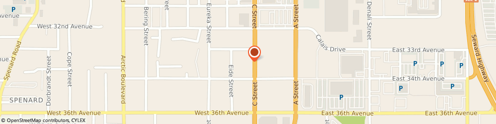 Route/map/directions to STATE FARM Gary Annis, 99503 Anchorage, 3330 C St Ste 101