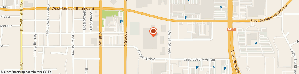 Route/map/directions to Wells Fargo Bank, 99503 Anchorage, 3101 A St
