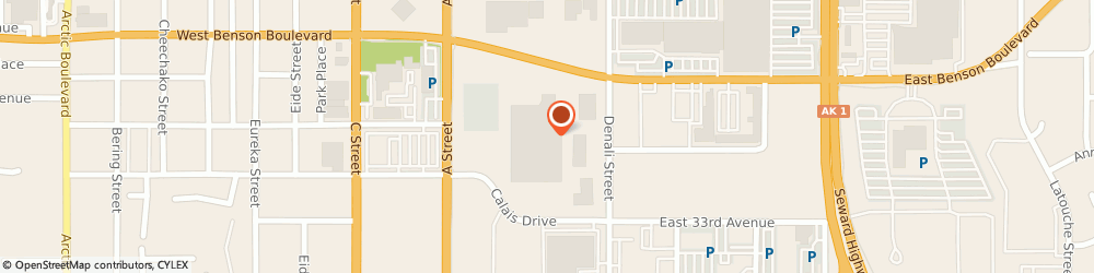 Route/map/directions to Jackson Hewitt Tax Service, 99503 Anchorage, 3101 A STREET