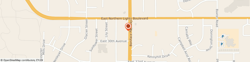 Route/map/directions to STATE FARM Tom Plooy, 99504 Anchorage, 2900 Boniface Parkway, Suite 100