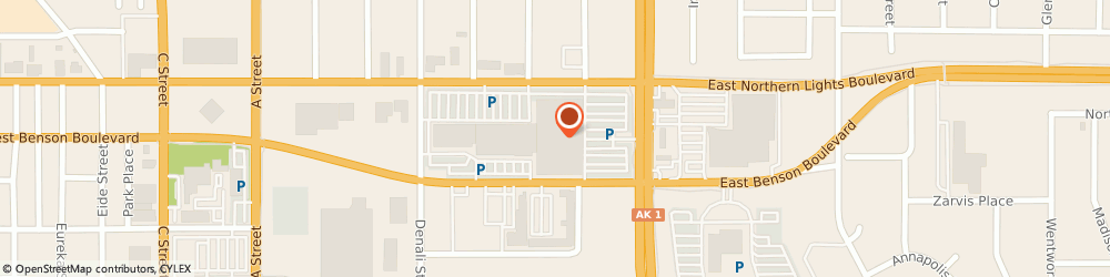 Route/map/directions to Sears Portrait Studio, 99503 Anchorage, 700 EAST NORTHERN LIGHTS BOULEVARD