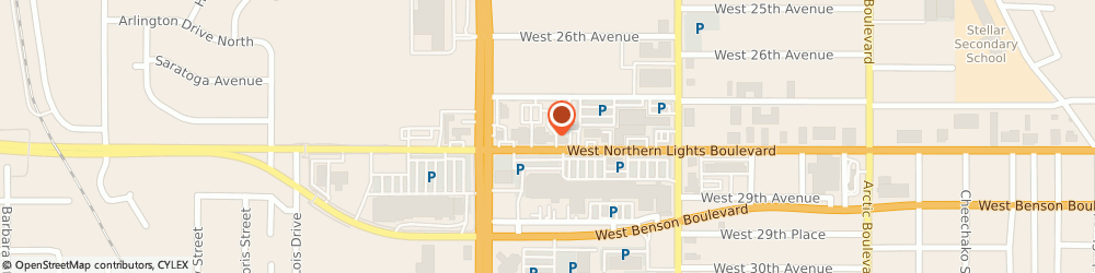 Route/map/directions to STATE FARM Tim Graham, 99503 Anchorage, 1417 W Northern Lights Blvd