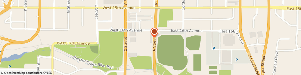 Route/map/directions to New York Life Insurance Company, 99501 Anchorage, 1600 A STREET SUITE 110