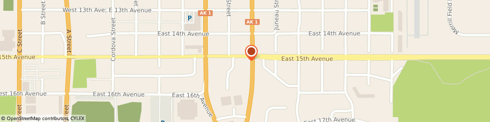 Route/map/directions to State Farm Heather Andrus, 99501 Anchorage, 836 E 15th Avenue
