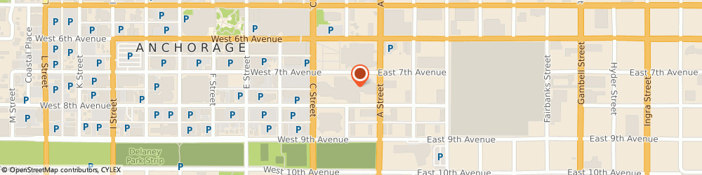 Route/map/directions to First National Bank of Alaska Federal Branch, 99513 Anchorage, 222 W 7Th Ave