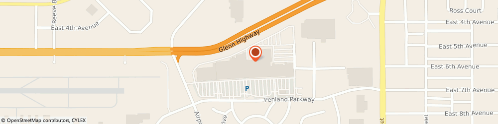 Route/map/directions to H&R Block, 99508 Anchorage, 3101 Penland Pkwy