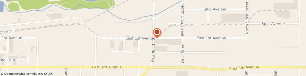 Route/map/directions to Fastenal, 99501 Anchorage, 101 Post Road