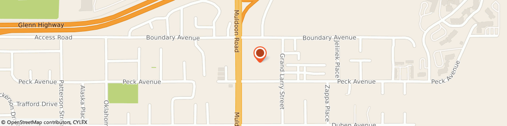 Route/map/directions to Jackson Hewitt Tax Service, 99504 Anchorage, 171 MULDOON ROAD SUITE 109